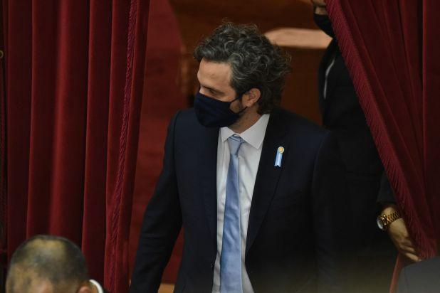 Santiago Cafiero Senado 18/06/20