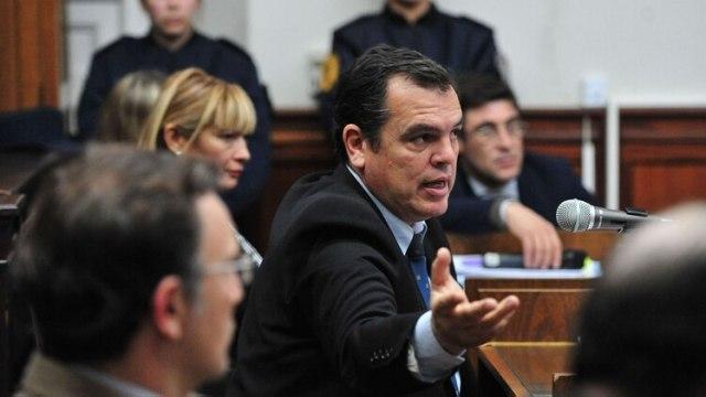José Ostolaza, abogado defensor de Nahir Galarza (Ricardo Santellan)