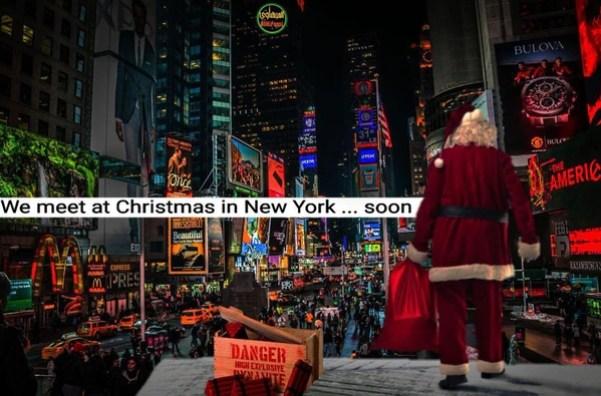 En noviembre, ISIS amenazó con lanzar un ataque en Times Square durante los festejos de Navidad. Peronada ocurrió