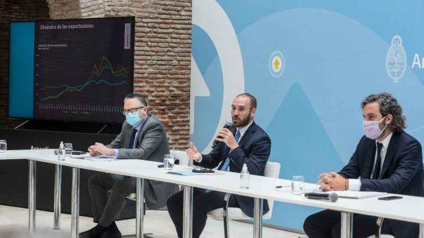 reunión entre el Gobierno y los principales empresarios del país