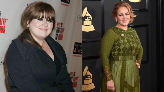 Adele solía mostrarse segura de su imagen