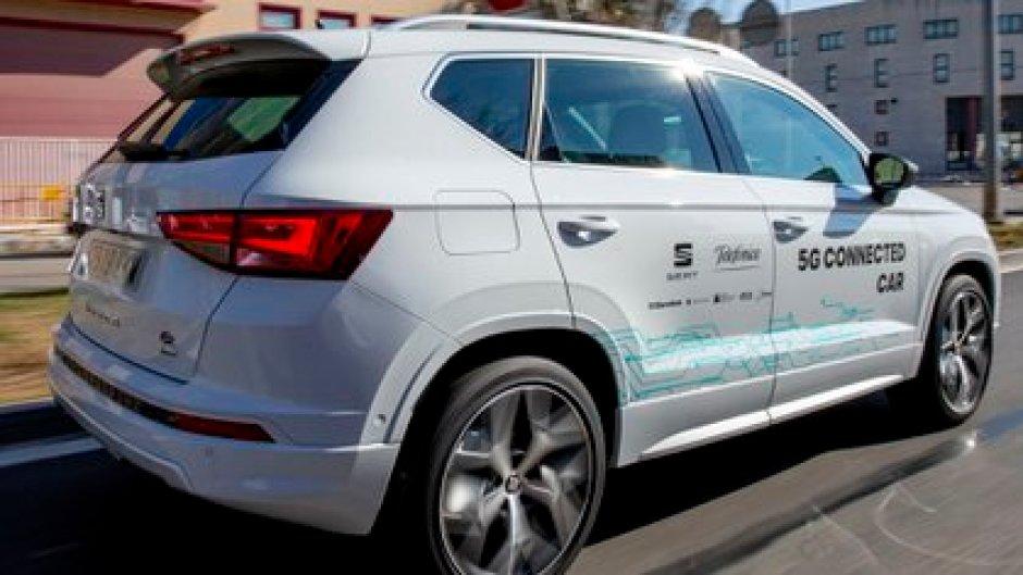 Los vehículos conectados se verán beneficiados por la rapidez y la menor latencia que ofrece el 5G