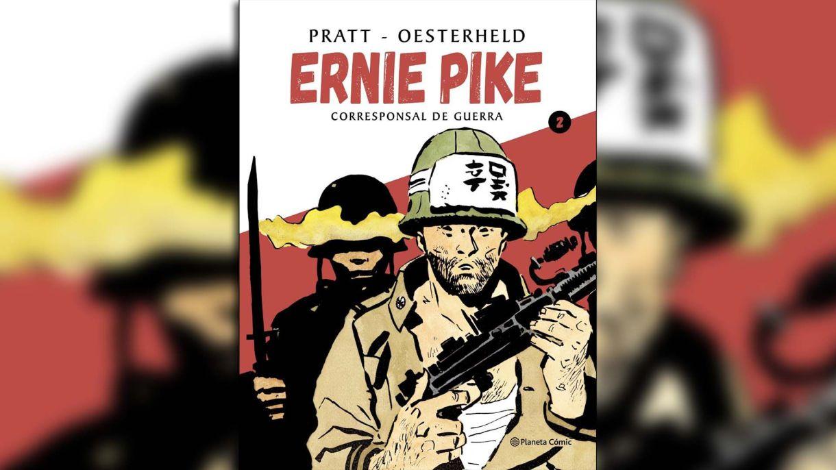 """El tomo 2 de """"Ernie Pike. Corresponsal de guerra"""" editado por Planeta Cómic"""