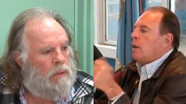 """""""Ruti"""" Mariños y Omar """"Caballo"""" Suárez: narcos y sindicalistas vigilados por el IRIC."""