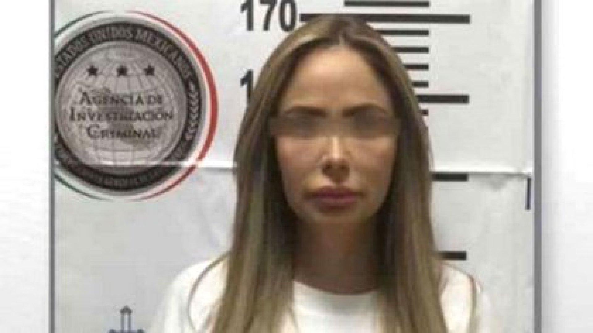 La ficha carcelaria de la mujer en México que provocó comentarios por sus rasgos perfectos. (Foto: PGR)