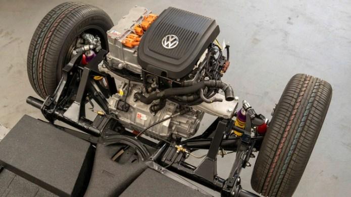 El nuevo corazón eléctrico del Escarabajo será el mismo motor del e-Up!, otra novedad que VW mostrará en Frankfurt