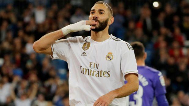 Benzema es el goleador de la liga española (Reuters)