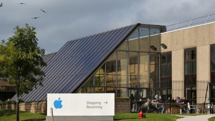 Edificio deApple en Irlanda, un país que atrae cuarteles generales de multinacionales por sus bajos impuestos pero que pertenece a la UE (AFP)