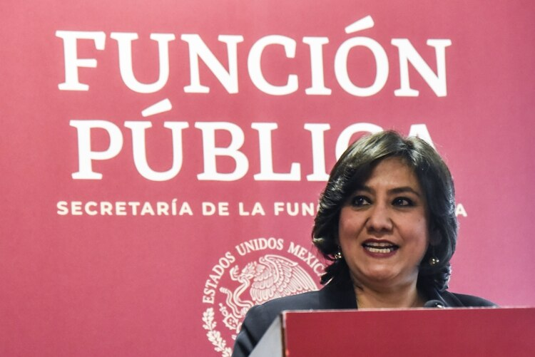 Eréndira Sandoval, secretaria de la Función Pública (Foto: Mario Jasso/Cuartoscuro)