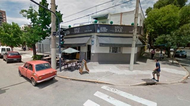 El bar en el que fueron abandonados los ancianos