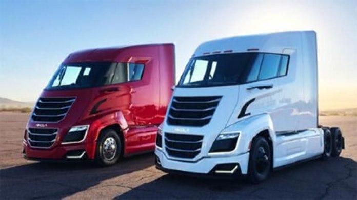 Los camiones con que Nikola, con inversiones de General Motors, se lanzó al mercado de los vehículos eléctricos