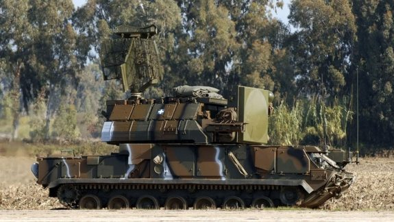 El sistema de misiles antiaéreos Tor-M1