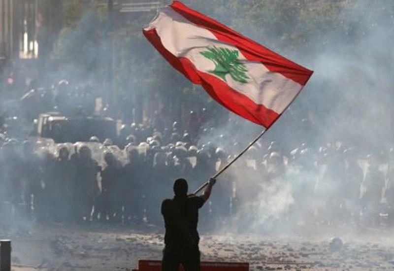 Ayer, miles de libaneses protestaron contra el Gobierno