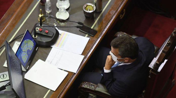 sesion de diputados por ganacias interior