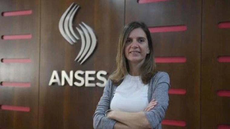 La titular de la Anses, María Fernanda Raverta