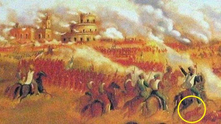 Purvis en Batalla de Caseros.