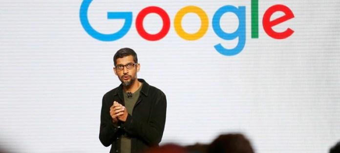 Sundar Pichai, CEO de Google (Reuters)