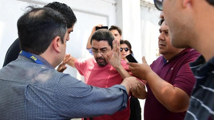 Fernando Esteche está siendo juzgado por el memorándum con Irán (Foto de archivo: Maximiliano Luna)