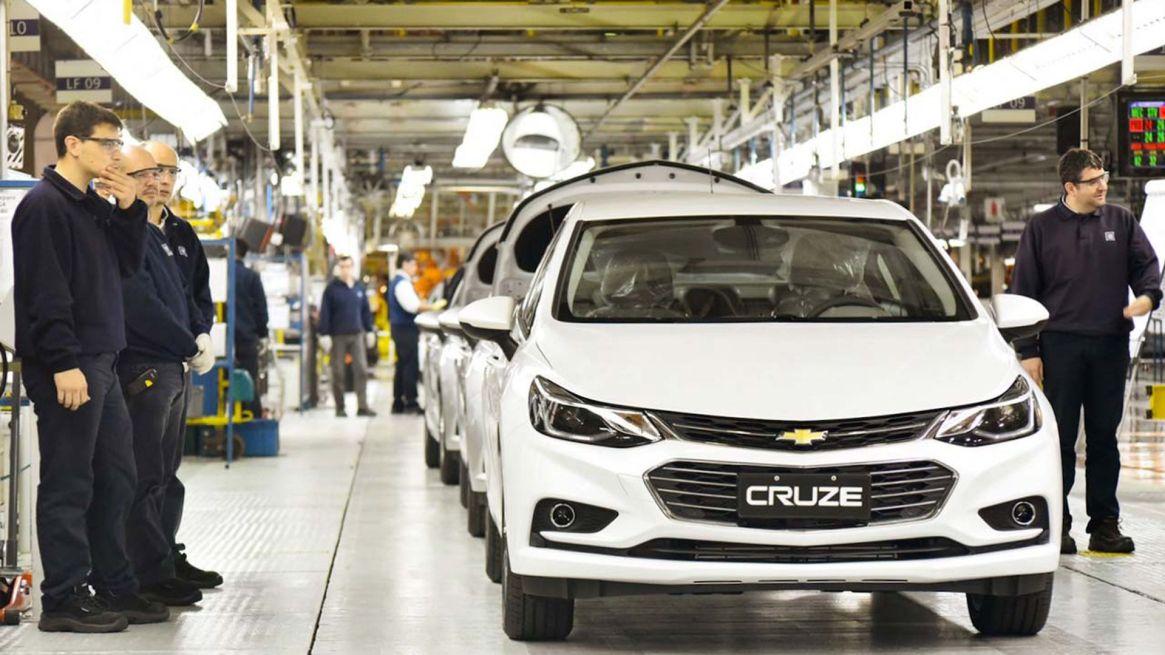 General Motors fabrica el modelo Cruze en General Alvear