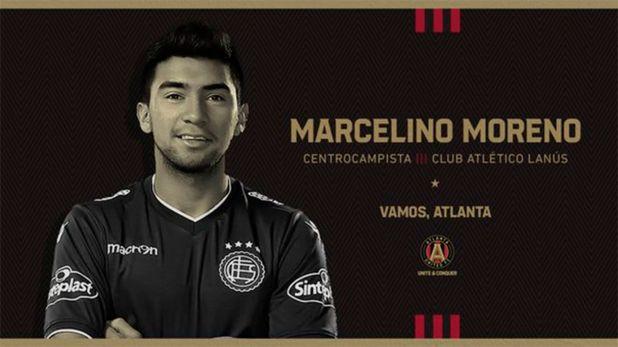 Marcelino Moreno al Atlanta United