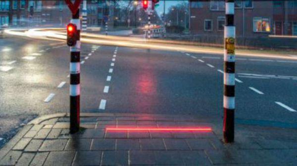 Los semáforos de pie ya funcionan en Alemania, España y Holanda