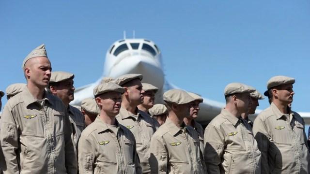 EEUU repudió la presencia militar rusa en Venezuela (AFP)