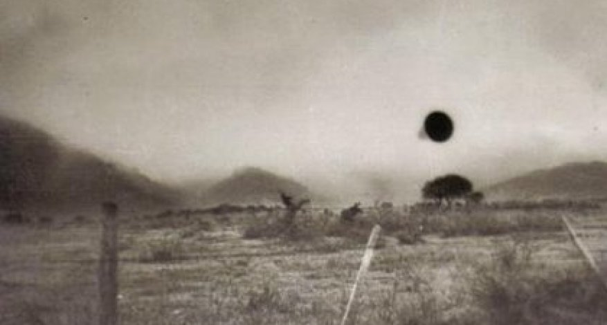 The first photographic record of a UFO in Argentina (Luis Netti)