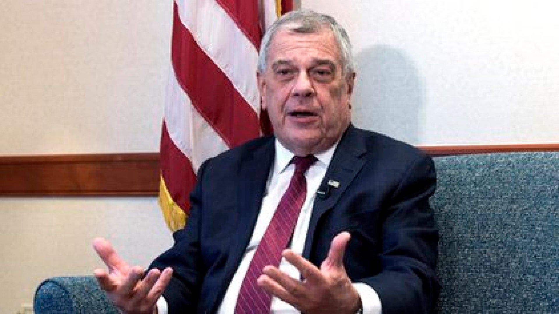 El encargado de Latinoamérica en el Departamento de Estado de EE.UU., Michael Kozak, (EFE/ Lenin Nolly)