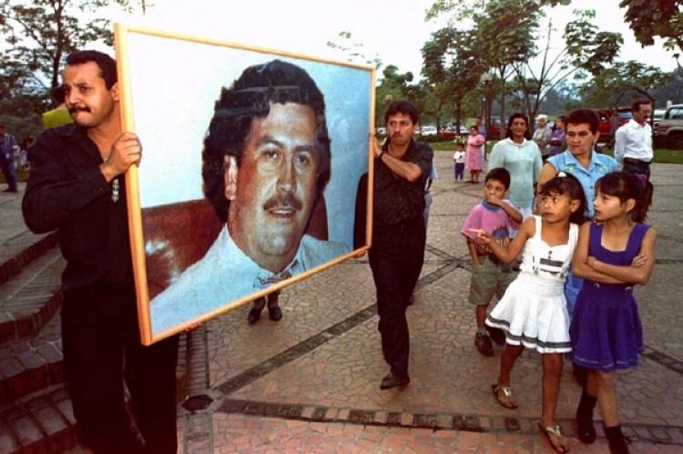 La figura de Pablo Escobar simboliza el doloroso pasado reciente de Colombia