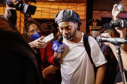 Ronaldinho fue detenido el 4 de marzo (EFE)