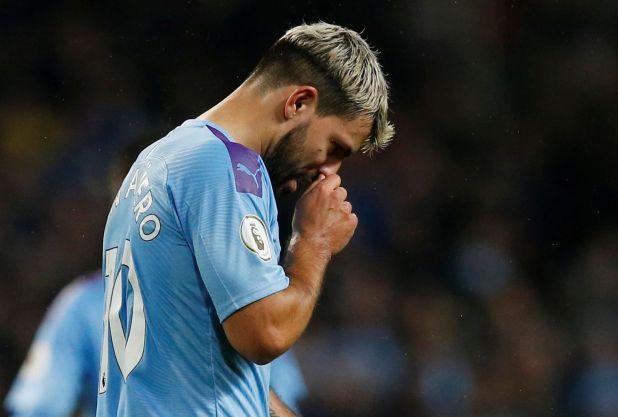Aguëro sufrió una lesión en su tendón y será baja por al menos 3 semanas (Foto REUTERS)