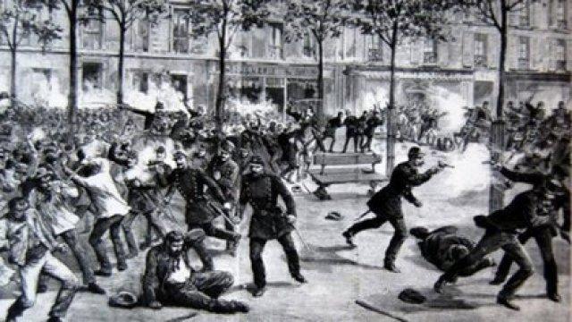 La revuelta de Haymarket