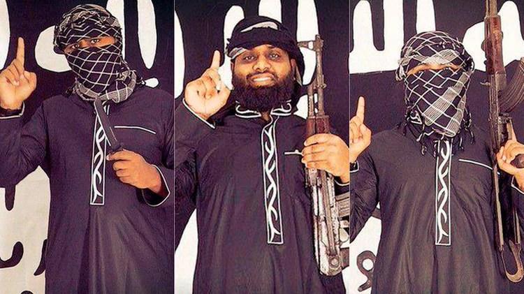 Tres presuntos terroristas suicidas del ISIS que habrían participado de los ataques