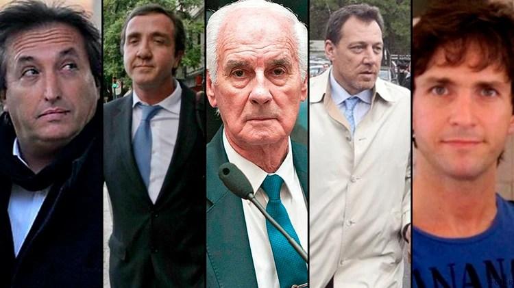Núñez Carmona, Vandenbroele. Ciccone, Resnick Brenner y Forcieri, los otros condenados por el caso