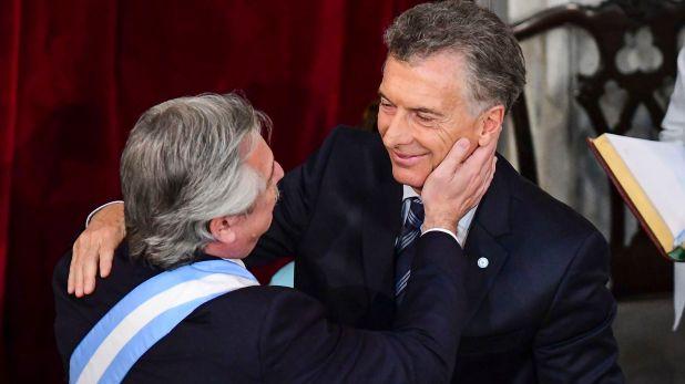 Jura - Alberto Fernández - asunción presidencia 2019 - Mauricio Macri