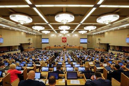 El proyecto de ley fue aprobado por la cámara baja de Rusia (REUTERS/Shamil Zhumatov)