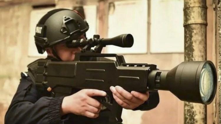 Otro rifle láser, en esta ocasión producido por la empresa Chengdu Hengan, con un alcance menor al ZKZM-500