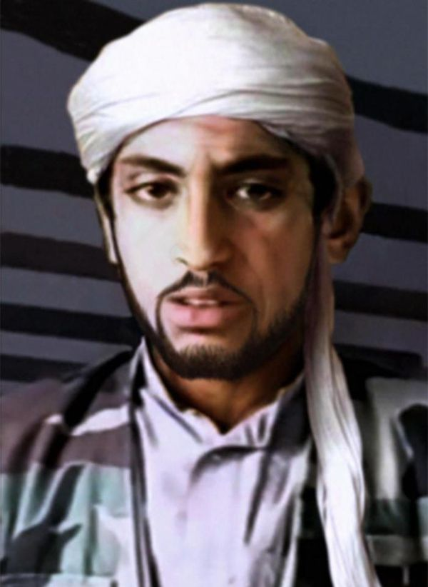 Así podría ser hoy Hamza bin Laden, quien tendría 28 años, según una elaboración de CBS (CBS)