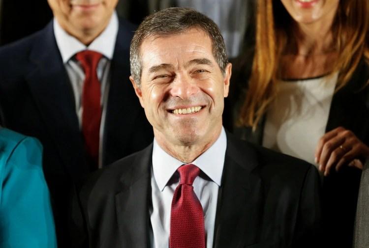 Ernesto Talvi, ministro de Relaciones Exteriores de Uruguay, durante el anuncio del gabinete, el 16 de diciembre de 2019 (REUTERS/Mariana Greif)
