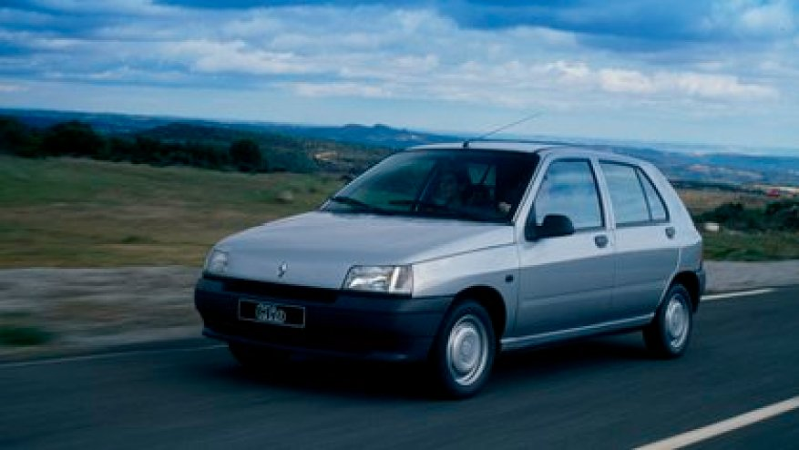 The Renault Clio I was an icon of the 90s (Renault)