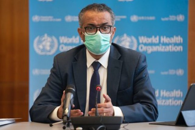 El director general de la Organización Mundial de la Salud (OMS), Tedros Adhanom Ghebreyesus. Europa Press / OMS