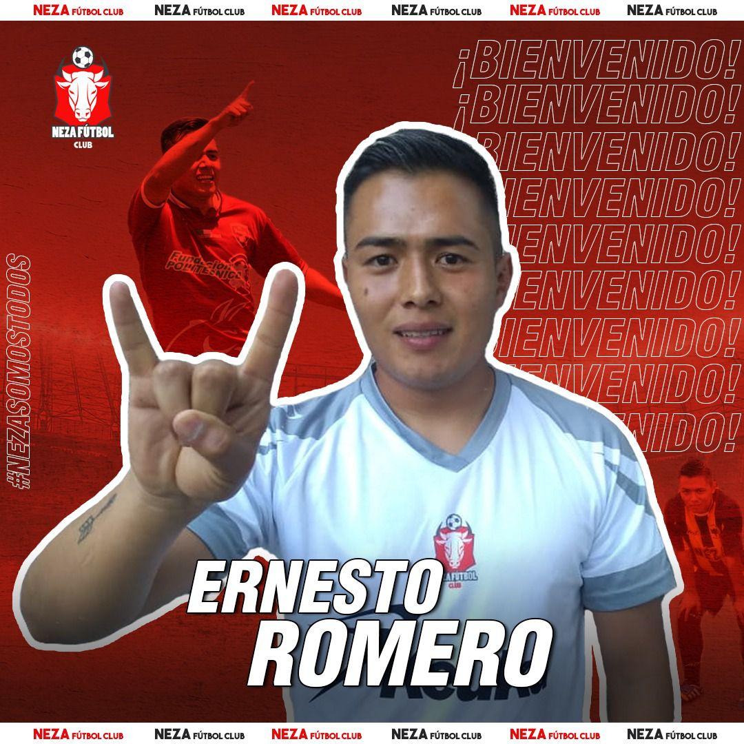 Para Ernesto Romero es tiempo de hacer una nueva historia con Neza FC (Foto: Cortesía/ Neza FC)