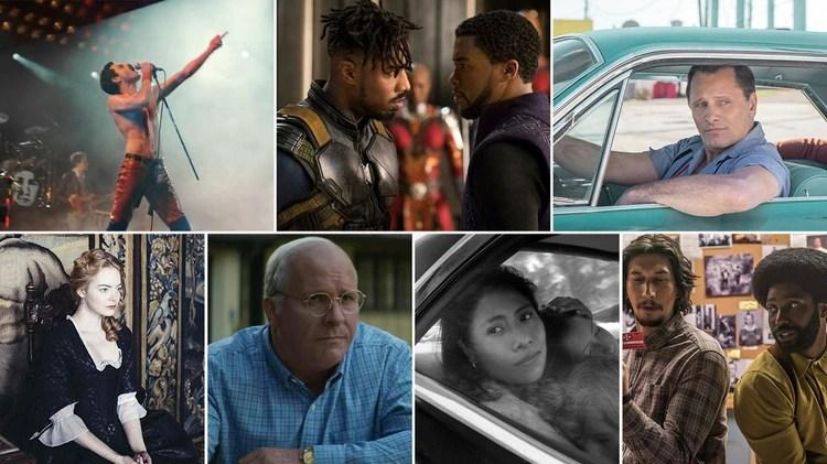 Las candidatas en la categoría Mejor Película