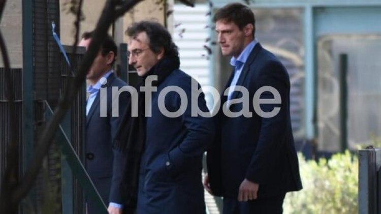 Angelo Calcaterra se presentó a declarar este lunes en los tribunales federales (Manuel Cortina)