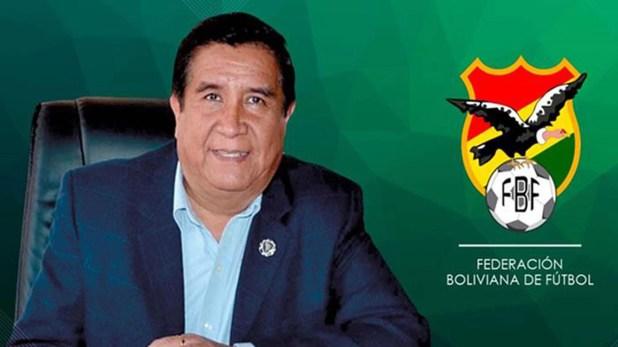 Cesar salinas federación boliviana de fútbol