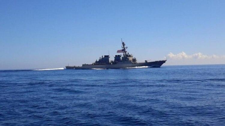 El USS Ramage en 2017