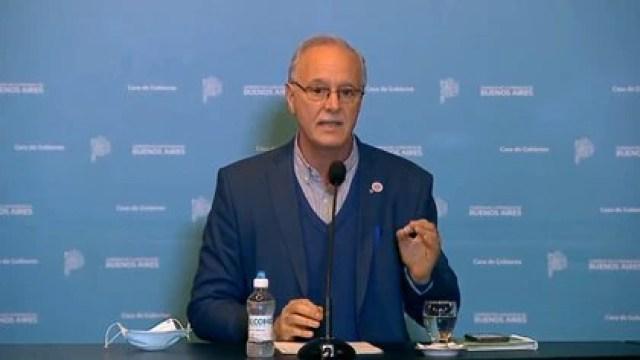 El ministro de Salud bonaerense, Daniel Gollan, manifestó su preocupación por un posible rebrote