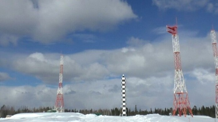 El misil ruso Sarmat es de alcance intercontinental