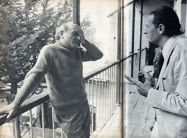 La primera y última entrevista del criminal de guerra SS Klaus Altmann. Alfredo Serra lo entrevistó en una prisión en Bolivia en 1973