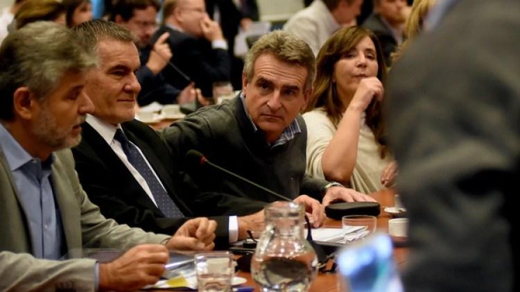 Agustín Rossi, titular del bloque del FpV en Diputados (Nicolás Stulberg)